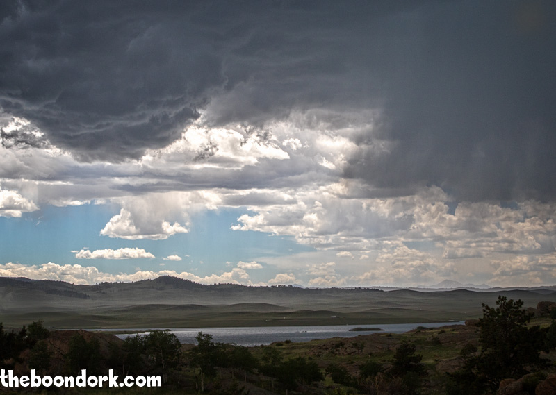 Thunderstorm over 11 mile reservoir