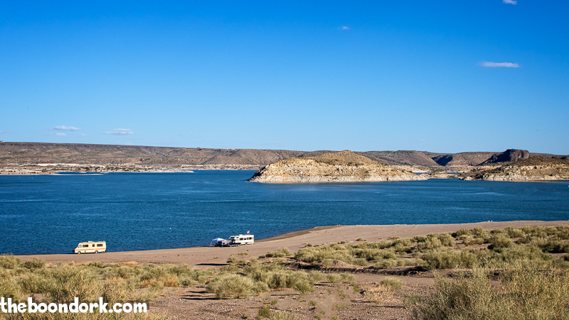 Elephant Butte state Park Boondocking
