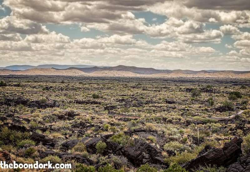 Lava field Valley of fires New Mexico