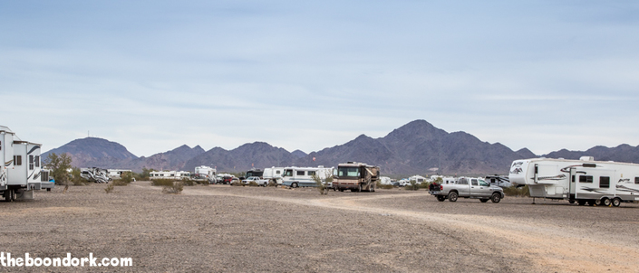 Boondocking Quartzsite Arizona