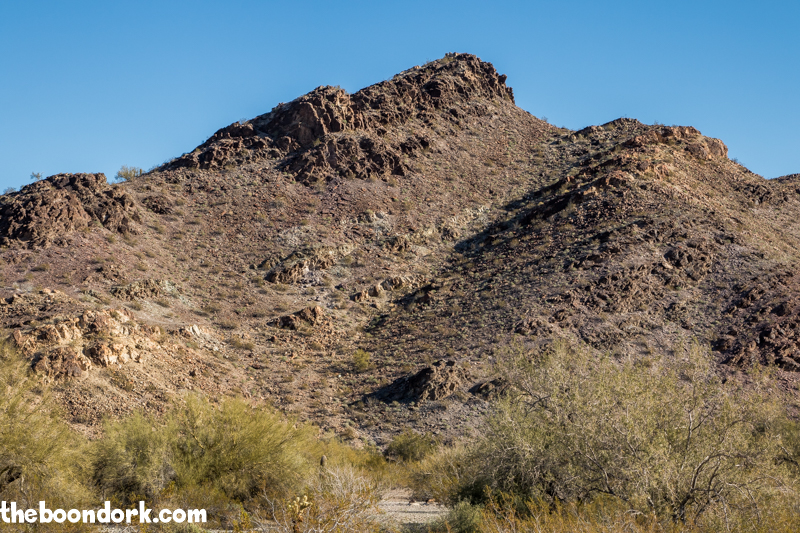 Crystal Hill free Boondocking Quartzsite Arizona