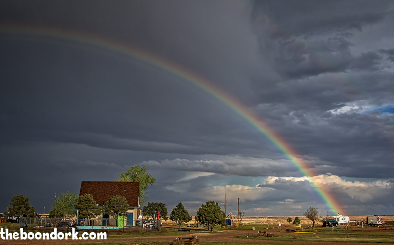 Now I know where Haggard's RV Park keeps its Pot of Gold