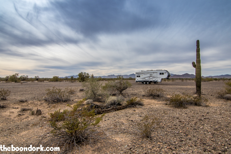 Boondocking BLM land