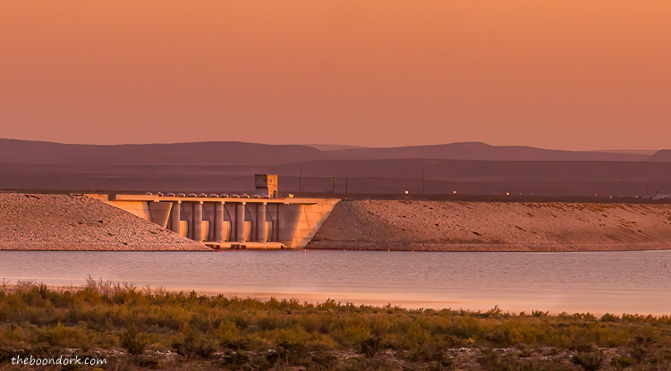 Brantley Lake dam New Mexico