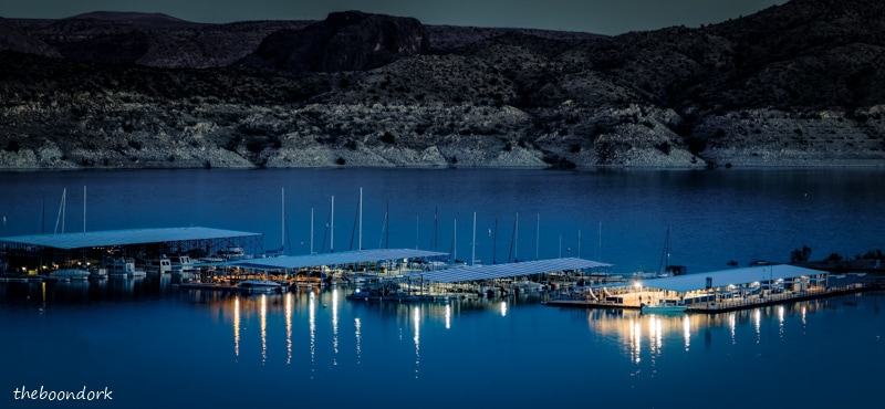 Elephant Butte state Park Marina