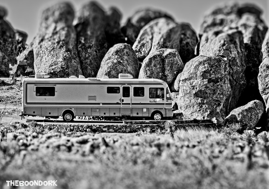 City of rocks state Park boondocking