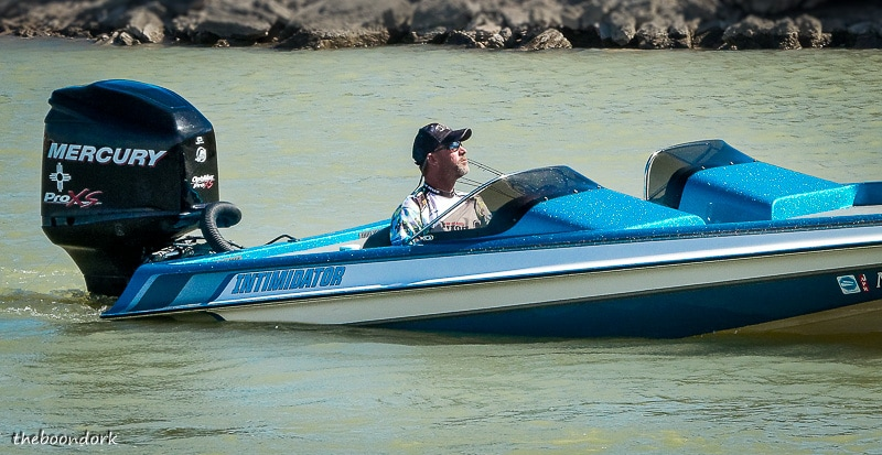 Fast boat at elephant Butte state Park