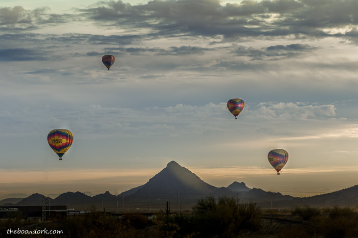 Hot air balloons Phoenix Arizona