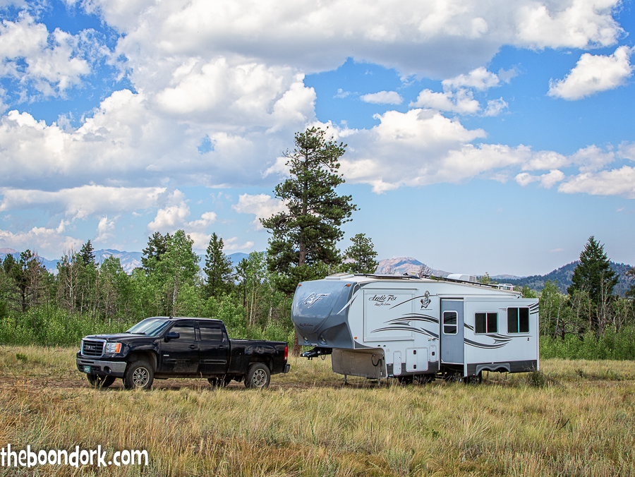 Arctic Fox Boondocking and the Pike national forest