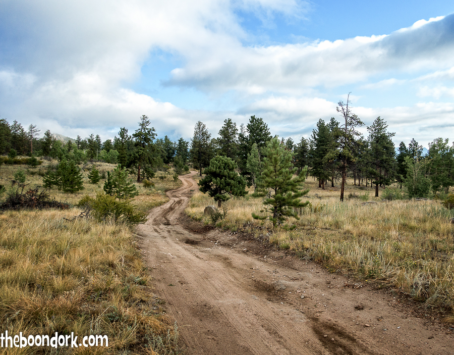 Pike national forest Jeep trail
