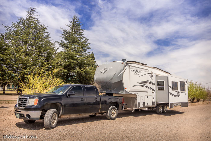 Boondocking at the escapees dream catcher Park Deming New Mexico