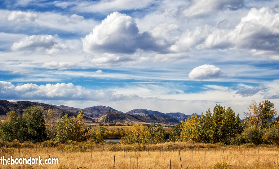Fall at Chatfield state Park Denver Colorado