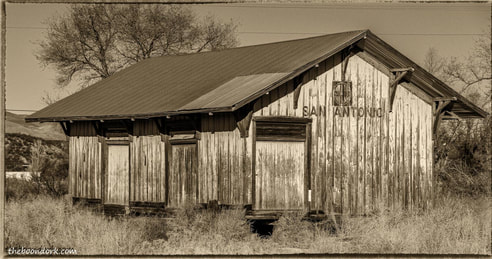 Old train station new Mexico Picture