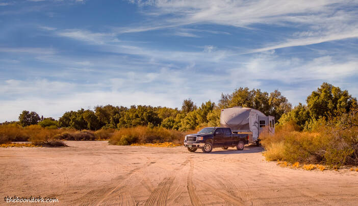 Yuma Arizona VFW boondocking Picture