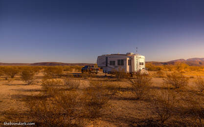 Boondocking Ajo Arizona Picture