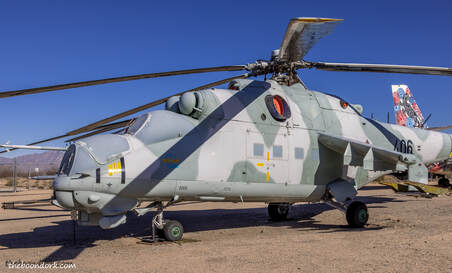Russian helicopter gunship Picture