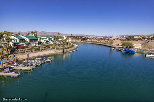 View from London Bridge Lake Havasu Picture