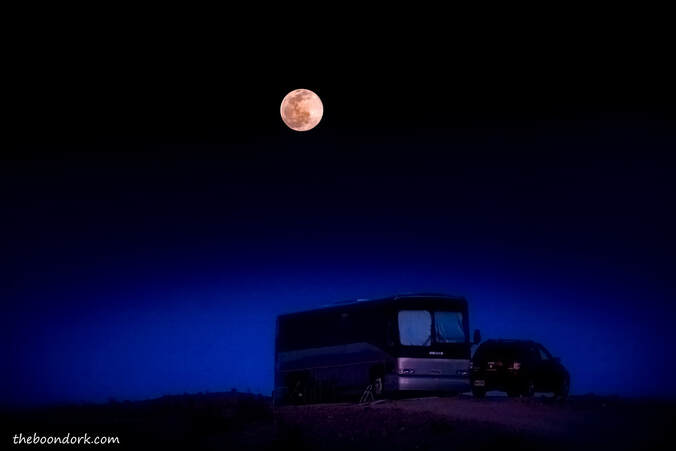 Boondocking moon Picture