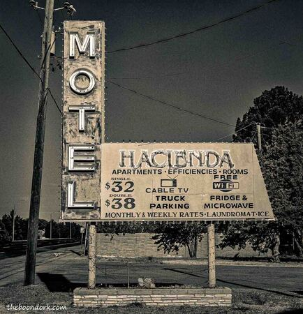 Old motel Deming New Mexico  Picture