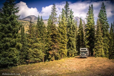Boondocking near Silverton Colorado  Picture