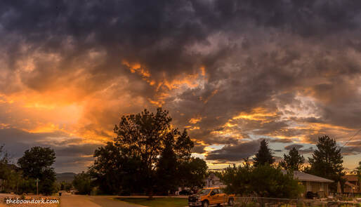 Sunset Denver Colorado  Picture