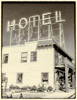 Old hotel FairPlay Colorado  Picture