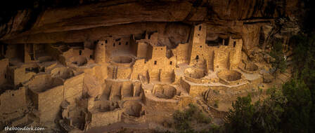 Native American ruins Mesa Verde Colorado  Picture