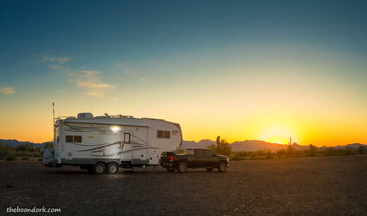 does your boondocking in Arizona Picture