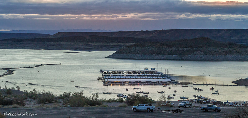 Fishing tournament on elephant Butte state Park New Mexico