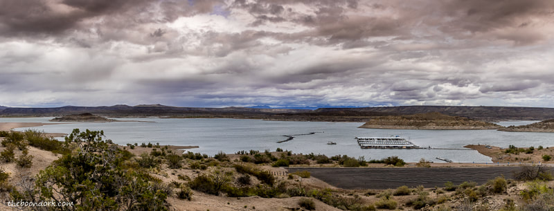 Elephant Butte state Park beach.