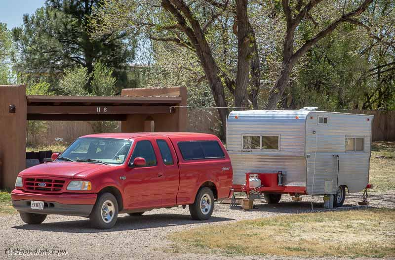 Boondocking it storrie Lake state Park New Mexico on Cinco de Mayo