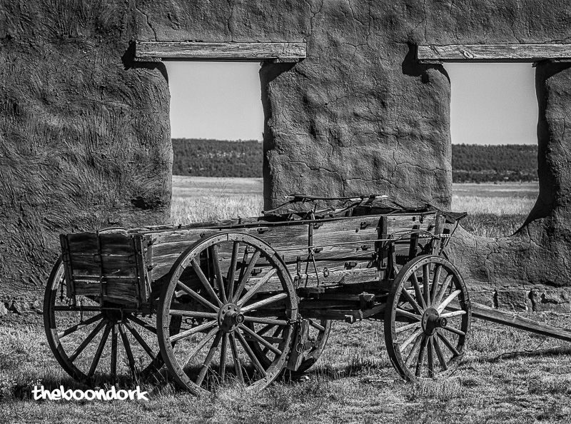 Old wagon at Fort Union New Mexico