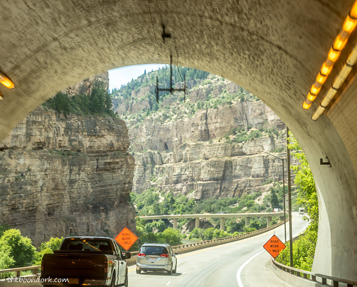Glenwood Canyon tunnel