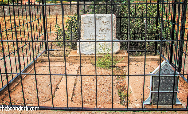 Billy the Kid's grave Fort Sumner New Mexico