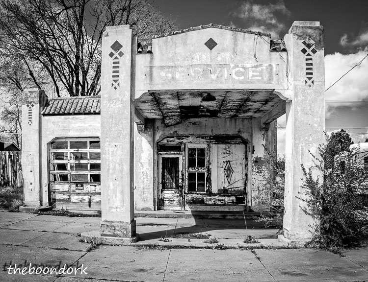 Old gas station In Walsenburg Colorado