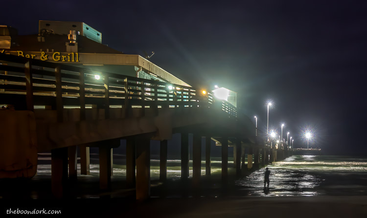 Bob Hall pier. at Night