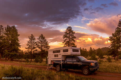 Boondocking Colorado mountains  Picture