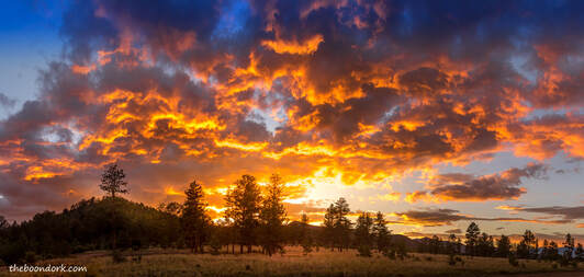 Boondocking sunset Colorado  Picture