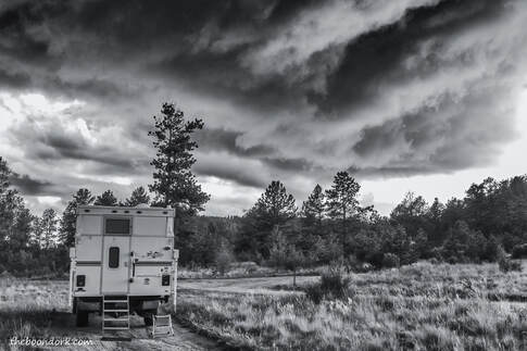 Boondocking thunderstorm Colorado  Picture