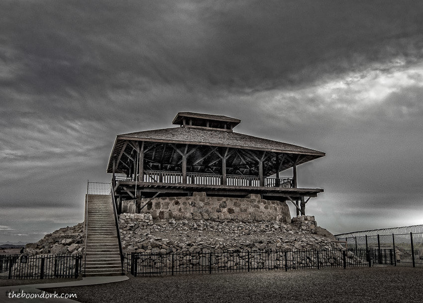 Old Yuma prison guard tower Yuma Arizona