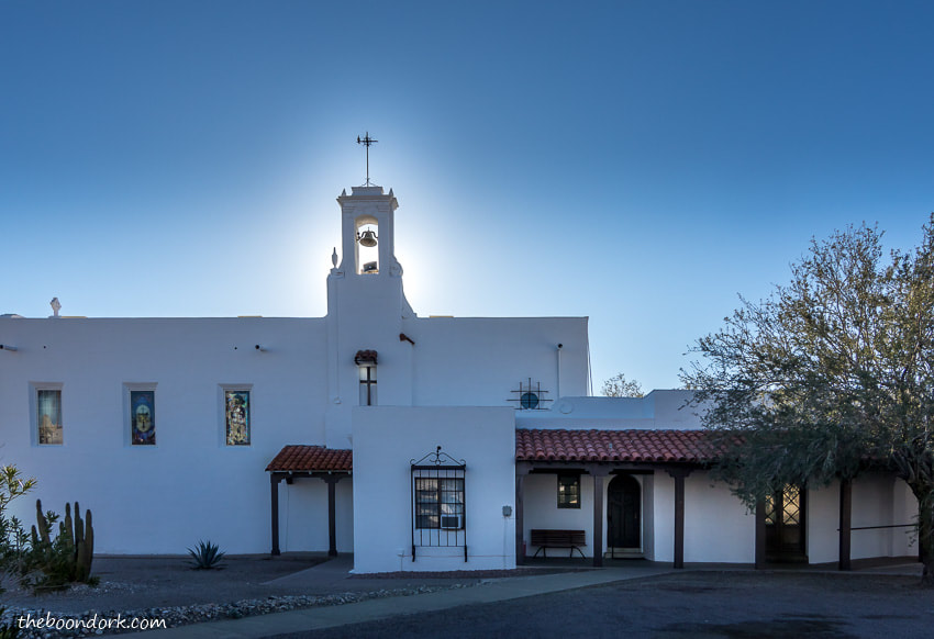 Protestant church in Ajo Arizona