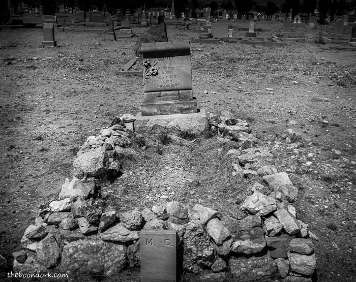 Tombstone Arizona grave