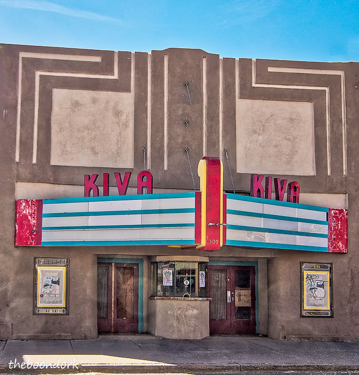 Old movie theater in Las Vegas New Mexico
