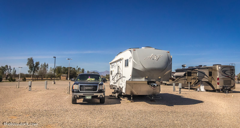 Camping at the Pima County Fairgrounds Tucson Arizona