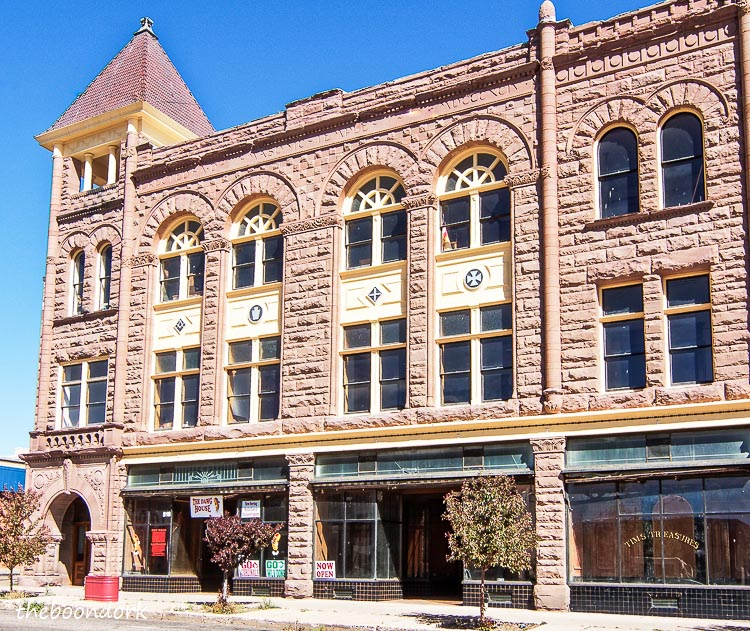One of the beautiful old buildings downtown Las Vegas New Mexico