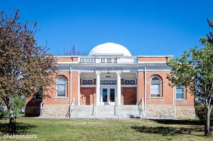 The Carnegie library Las Vegas New Mexico
