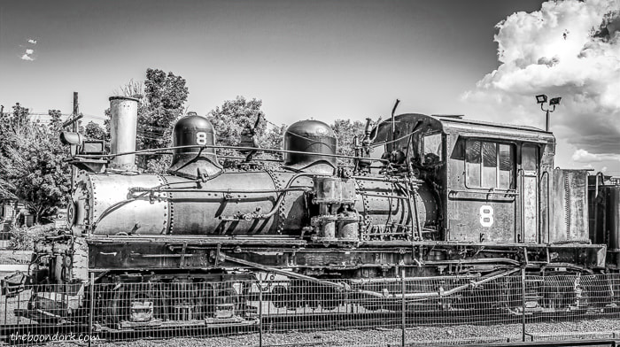 Canyon city Colorado antique locomotive