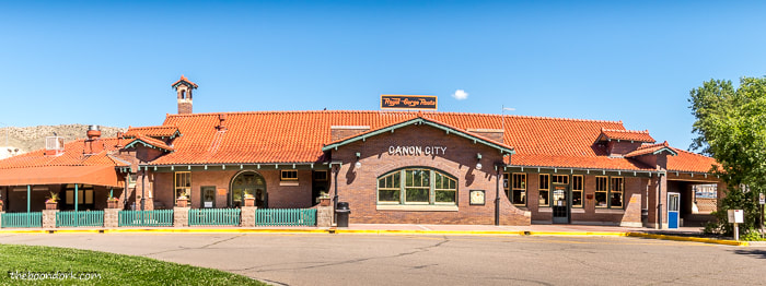 Canyon city Colorado train station