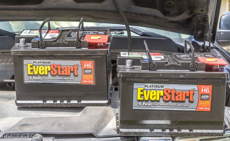 AGM truck batteries from Walmart