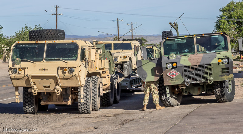 U.S. Army near Fort Bliss